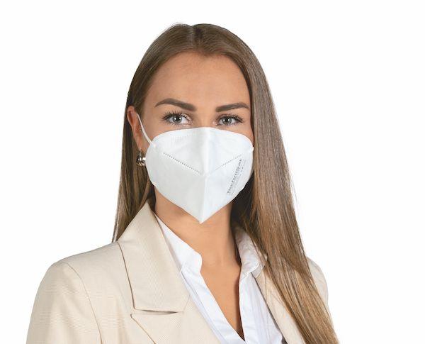 Frau mit einer FFP2 Maske
